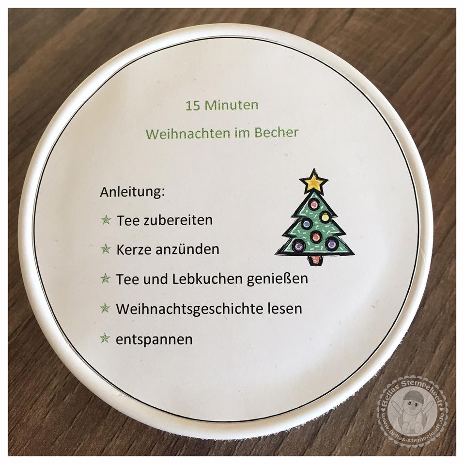 15 Minuten Weihnachten Anleitung.Bellas Stempelwelt